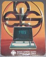 PETIT  CALENDRIER DE LE BANQUE ESPIRITO SANTO  DE PORTUGAL  - 1985 - Petit Format : 1981-90