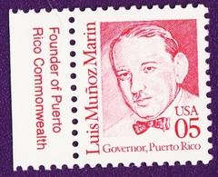 1990. Great American. Scott #2173. Don Luis Muñoz Marín, The Father Of Puerto Rico. Neuf (**) - Etats-Unis