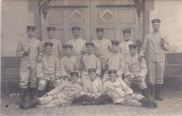 Fotokarte - Soldatengruppe I. Wk       AK 09411 - Personnages