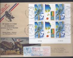 MISSION GUERRE COMMANDANT ANTOINE SAINT-EXUPERY BORCHO CORSE DISPARU CONTROLE RADAR NOUVELLE CALEDONIE CONSEIL EUROPE - Neukaledonien