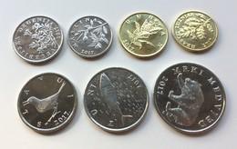CROATIA - Lot 7 Coins 2017 - Croatia