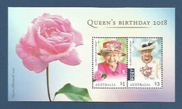 Australien 2018 , Queen`s Birthday - Block / Sheet -  Postfrisch / MNH / Mint / (**) - 2010-... Elizabeth II