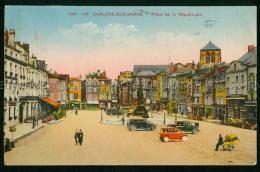 Chalons Sur Marne Magasin CHAUSSURES A. MARTIN Voitures Anciennes Place De La Republique Châlons-en-Champagne 51 Marne F - Châlons-sur-Marne