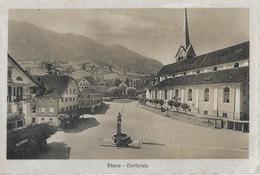 STANS → Dorfplatz Mit Hotels Und Der Kirche Anno 1913 - NW Nidwalden
