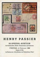 20. Passier  Auktion 1966 - Auktionskataloge