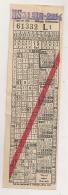 TICKET DE TRAMWAY CHIEN OU BAGAGE  VIENNE AUTRICHE 1939  KARTE GEMEINDE WIEN STÄDTISCHE STRAßENBAHNEN HUND ODER CP A1622 - Europe