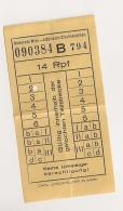 TICKET DE TRAMWAY VIENNE AUTRICHE 1939  KARTE GEMEINDE WIEN STÄDTISCHE STRAßENBAHNEN CP A1624 - Europe