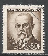 Czechoslovakia 1945. Scott #301 (U) President, Masaryk * - Tchécoslovaquie