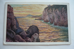 Croatia, Dubrovnik, Ragusa, Kolocep, Art, Strma Obala-R. Maricic - Croatie