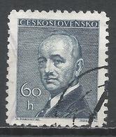 Czechoslovakia 1946. Scott #318 (U) President, Eduard Benes * - Tchécoslovaquie