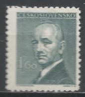 Czechoslovakia 1946. Scott #319 (M) President, Eduard Benes * - Tchécoslovaquie
