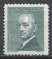 Czechoslovakia 1946. Scott #319 (M) President, Eduard Benes * - Neufs