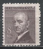 Czechoslovakia 1946. Scott #321 (U) President, Eduard Benes * - Tchécoslovaquie