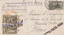 FDC Lettre Mexique 1939 - Mexique