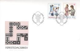 Norwegen 1019/20 FDC - FDC