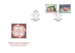 Norwegen 1046/47 FDC - FDC