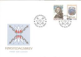 Norwegen 1048/49 FDC - FDC