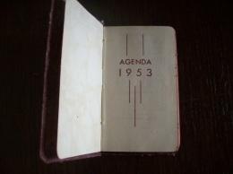 Agenda 1953 - Calendriers