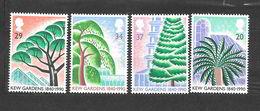 Gran Bretagna 1990 Anniversario Fondazione Dei Giardini Londinesi Di Kew.  Serie Completa Nuova/mnh** - 1952-.... (Elisabetta II)