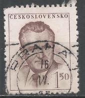 Czechoslovakia 1948. Scott #363 (U) President, Klement Gottwald * - Tchécoslovaquie