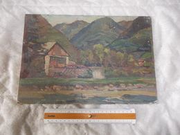 TABLEAU Peintre Marcel Bertoin - Other Collections