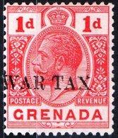 GRENADA, COLONIA BRITANNICA, BRITISH COLONY, TASSA DI GUERRA, GIORGIO V, 1916,  NUOVO (MLH*) YT 81    Scott MR1 - Grenada (...-1974)