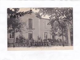 CPA. (14 X 9)  -  SERVIAN  -  Ecole  Libre  De  Garçons - France