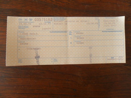 ANCIEN TICKET DE TRAIN /   LIEGE   MAASTRICHT  / 1992 - Titres De Transport