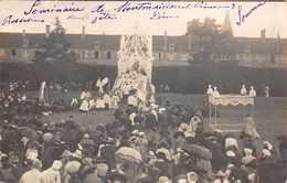MONTMORILLON  - Carte Photo Sur Le Séminaire  Procession De La Fete Dieu 1913 - Montmorillon
