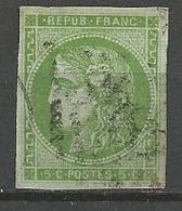 BORDEAUX N° 42B OBL - 1870 Emission De Bordeaux