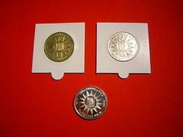LOT PIECES 3, 6 ET 25 EURO TEMPORAIRE VILLE DE ST RAPHAEL - Euros Of The Cities