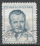 Czechoslovakia 1948. Scott #365 (U) President, Klement Gottwald * - Tchécoslovaquie