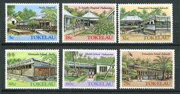 237 TOKELAU 1986 - Yvert 130/35 - Architecture Hopital Ecole - Neuf **(MNH) Sans Trace De Charniere - Tokelau