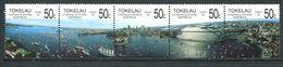 237 TOKELAU 1988 - Yvert 155/59 - Sydpex Baie Sydney 1ere Flotte - Neuf **(MNH) Sans Trace De Charniere - Tokelau