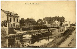 CPA - Carte Postale - Belgique - Hal - Pont Brantlant - 1923 ( SV5516 ) - Halle