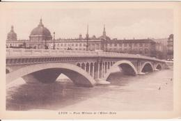 CPA  -  LYON - Pont Wilson Et L'hôtel Dieu - Lyon