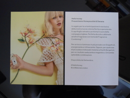 Joe Malone Parfum Carte - Perfume Cards