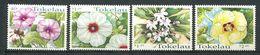 237 TOKELAU 1998 - Yvert 251/54 - Fleur Tropicale - Neuf **(MNH) Sans Trace De Charniere - Tokelau