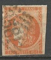 BORDEAUX N° 48 OBL - 1870 Emission De Bordeaux