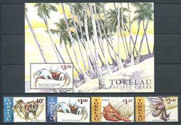 237 TOKELAU 1999 - Yvert 255/58 BF 27 - Crabe Crustace - Neuf **(MNH) Sans Trace De Charniere - Tokelau