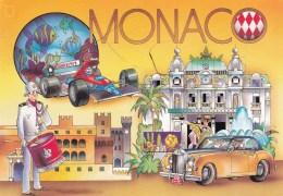 Monaco, Posted Airmail To Australia 1999 - Monaco