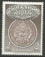 Argentina - 1956 National Mint MNH *   Sc 650 - Argentina