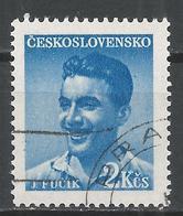 Czechoslovakia 1949. Scott #377 (U) Julius Fucik, Writer * - Tchécoslovaquie