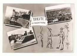 CT--02644--  TRIESTE - 28° RADUNO ALPINI - 3 VEDUTINE - ALPINI - NON VIAGGIATA - Trieste