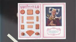 LU - Biscuits Lefevre Utile - Calendrier 1923 - La Bretonne D'hipolyte Berteaux - Imp Draeger - Calendars