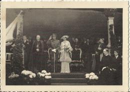 Braine-L'Alleud - Inauguration Du Monument Au Cardinal Mercier - Leurs Majesté Le Roi Et La Reine Et Son Eminence Le Car - Braine-l'Alleud