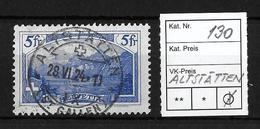 1914-1931 GEBIRGSLANDSCHAFTEN → Rütli SBK130     ►ALTSTÄTTEN◄ - Gebraucht
