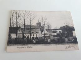 LOUPOIGNE L'Eglise Belle Animation  Oblitéré En 1906 - Genappe