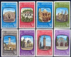 JORDAN - JERUSALEM CHURCHES - MOSQUE - IMPERF - **MNH - 1963 - Mezquitas Y Sinagogas