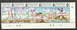 BAHAMAS  1999  FLAMINGO STRIP MNH - Flamingo